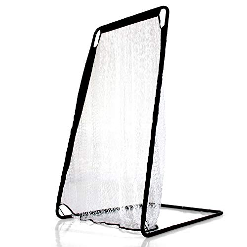 Kicking Net - Kapler Football Kicking Net for Kicker Punting and Kicking Practice Net Kicking Training Equipment Easy to Assemble Frame Suitable for Indoor & Outdoor Use