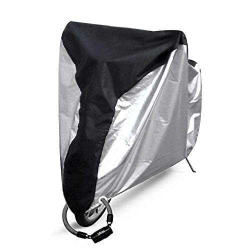 Ohuhu Bike Cover Waterproof Outdoor Bicycle Cover for Mountain and Road Bikes (Bike Topeak Cover)