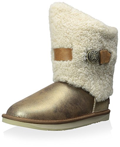 Short NOTT Collective Australia Old Shearling Women's Luxe Boot Gold Shaft xBqwwtI67