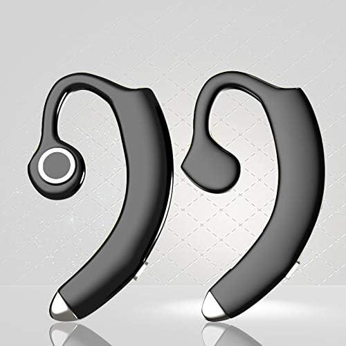 RENKUNDE Bluetoothヘッドセットスピーカーオーバーヘッドプライベートモードステレオミニワイヤレススポーツ ゲーミングヘッドセット (Color : White)