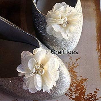 YYCRAFT Lote de 20 perlas de gasa hechas a mano para proyectos de manualidades