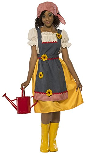Rubie's Costume Women's Farmer's Wife Costume - sunflower apron