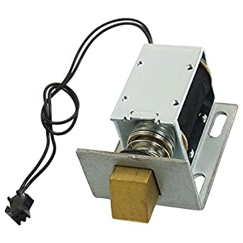 Uxcell a12080600ux0113 holding solenoid for electric door for 12vdc door lock actuator