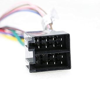 Amazon.com: Universal Auto Radio Adapter Kabel ISO Stecker Auto ISO ...