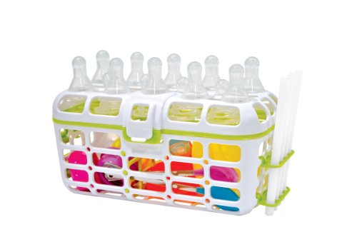 Munchkin Deluxe Dishwasher Basket, Colors May Vary, Baby & Kids Zone