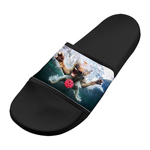 Original Slippers Antiskid Shower Couple Flip-flop Dog Golf Ball Shoes Outdoor Flat Sandals Adult 7 B(M) US from LLSUSLP