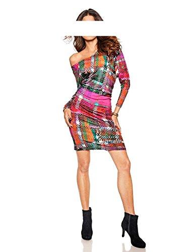 Heine Donna Multicolore Vestito Vestito Heine Opaco rwqPzrR