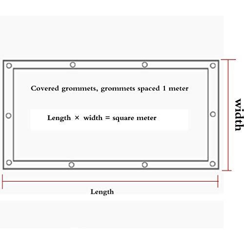 LAOSUNJIA extérieur Filet d'ombrage épaississant extérieur LAOSUNJIA pour Parasol en polyéthylène Haute densité (Couleur : Green White, Taille : 6M7M) a79749