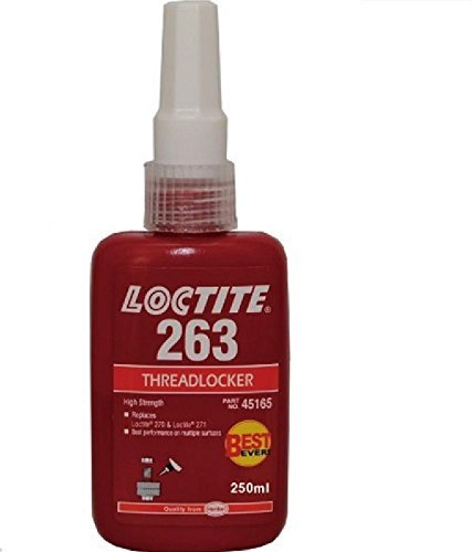 Loctite 263 250ml RED Threadlocker High Strength Glue 4333462562