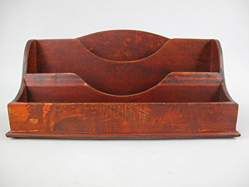 Set scrivania Heads, portalettere, scrivania, in legno, idea regalo Clever-Deko
