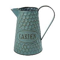 Vaso di Fiori Vintage Vaso di Fiori in Ferro brocca di Latte Decorazione Shabby Secchio di Metallo fioriera Vaso di…
