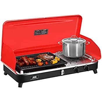 Amazon.com: JIMI Portable Grill for Outdoor Grilling and ...