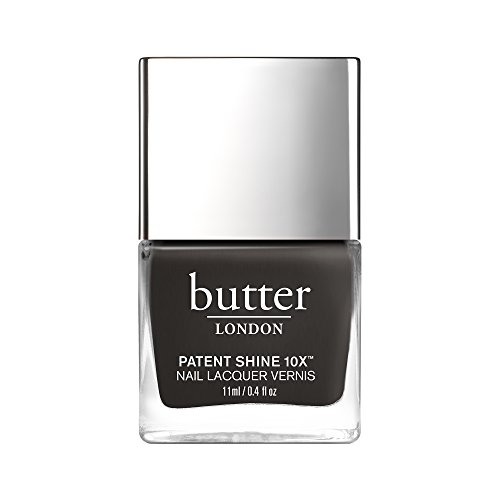 butter LONDON Patent Shine 10X Nail Lacquer, Earl Grey, , 0.4 fl. oz.