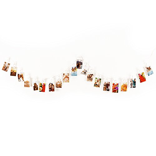 HP Sprocket LED String Light Photo Display with Clips ()