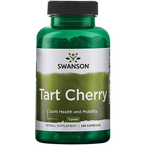 Swanson Tart Cherry 500 Milligrams 120 Capsules