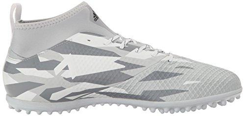 Adidas Man Ace 17,3 Primemesh Turf Fotboll Sko Klar Grå / Vit / Svart