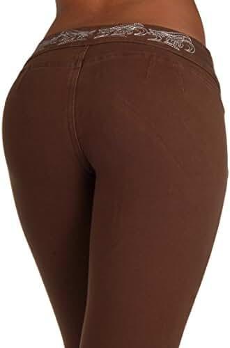 3031 - Brazilian Style Butt Lift, Levanta Cola, Fashion Moleton, Skinny Leg