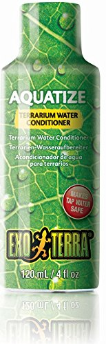 - Exo Terra Exo Terra Aquatize Terrarium Water Conditioner, 120  ml