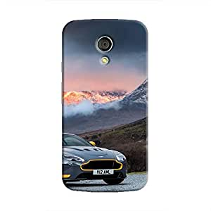 Cover It Up - AM Vantage GT8 Orange Moto G2 Hard Case