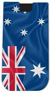 Rikki KnightTM Australia Flag - Smart Phone Neoprene Protective Pouch for iPhone 4/4s/5/5s/5c, Motorola Moto X, Galaxy S3/S4/Note 3/Ace 2, LG Optimus Gpro/G2/L3/4X HD, Sony Xperia Z1S/U, HTC Droid/One/One X/Pro/mini, Blackberry G10/Z10, Nexus 4/5, Android
