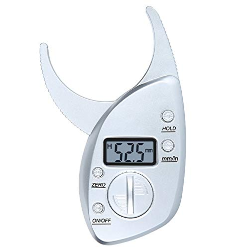 High Quality Digital LCD Display Body Fat Caliper Skin Fold Analyzer Digital Body Fat Monitor