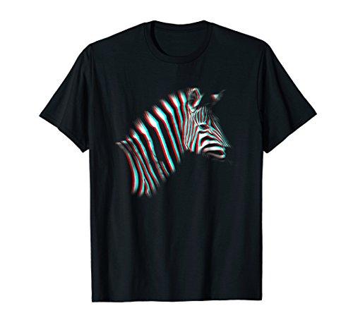 (3D Zebra T-Shirt)