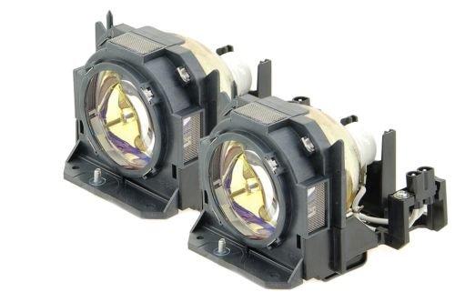 Rich Lighting プロジェクター 交換用 ランプ ET-LAD60 ET-LAD60W (2灯セット) パナソニック PANASONIC プロジェクター PT-DW530 対応【180日保証】   B078J4B6HM