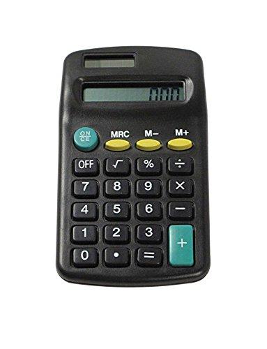 SE CAL3800B Mini Pocket Calculator, 4.25 x 2.25-Inch