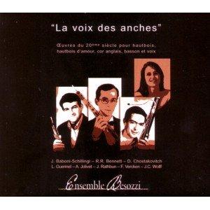 (La Voix Des Anches 20th Century Works for Oboe Ensemble Besozzi)