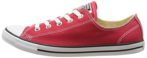 Rosso Red Sneaker Unisex Converse Dainty Star Adulto Ox 600 varsity tSSwY8