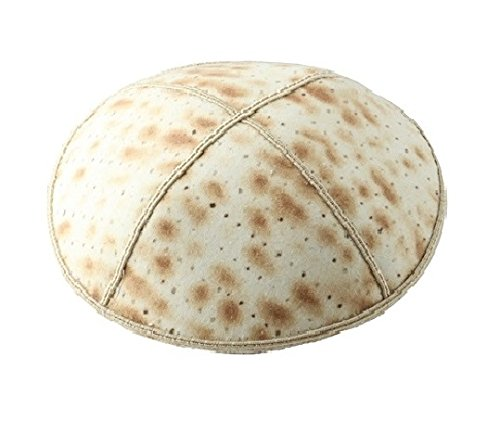 Gift Idea for Pesach - Kippah with Matzahs Jewish Gift for Pesach, Matzos Design Yarmulkes, Passover Unique Leil Seder Gift