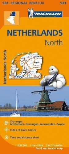 Read Online Netherlands North - Michelin Regional Map 531 (Michelin Regional Maps) ebook