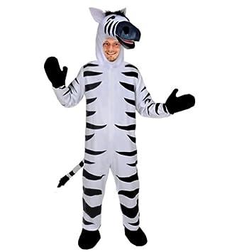 Zebra Offen Kostum Einheitsgrosse Xxl Fasching Karneval Fastnacht