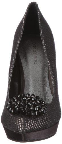 Tela Mena Paco Para De Vestir Negro 04703 Zapatos Mujer Day apq4Y