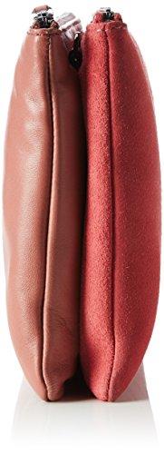 BREE Damen Brigitte 28, Flamingo/Tabas, Clutch W17, Mehrfarbig (Flamingo/Tabasco), 17.5x2x25 cm