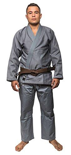 Amazon.com: Blank Kimonos Pearl Weave BJJ Gi – Gris w/Free ...