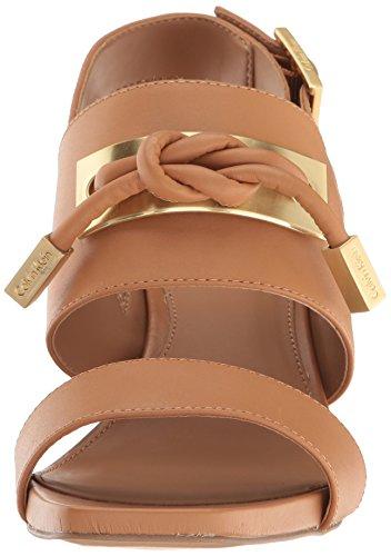 Calvin Klein Kvindernes Jilline Kjole Sandal Mandel Tan Oa4yNiFG