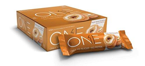ONE Bar Protein 12 bars Variety Pack - Glazed Donut , Blueberry Cobbler , Salted Caramel