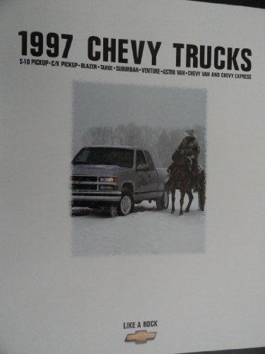 Price comparison product image 1997 Chevy Chevrolet S-10 / C K / Blazer / Tahoe / Suburban / Venture / Astro / Van Truck Sales Brochure