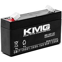 KMG 6V 1.2Ah Replacement Battery for LEOCH DJW6-1.2