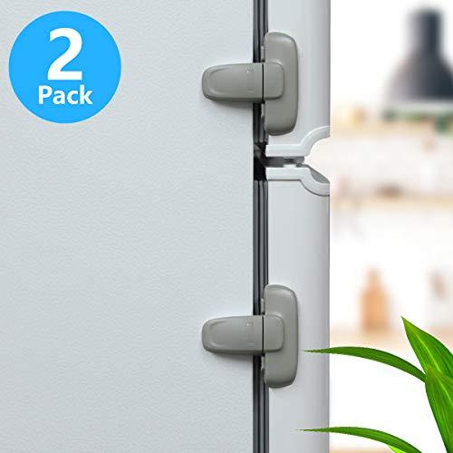 small 2 door refrigerator - 5