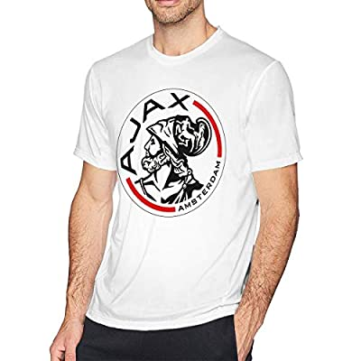 Absolute Cult AFC Ajax Amsterdam Club Socce Men's Dangerous Fit T-Shirt