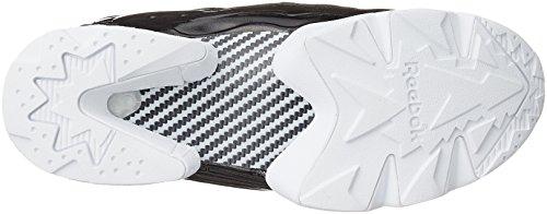 Fury Black White Reebok Overbranded Instapump 6Bwwq15