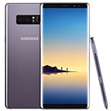"Samsung Galaxy Note 8 (N950FD) 64GB - Dual SIM [Android 7.1.1, 6.3"" qHD Super AM-OLED, Dual 12,0MP, NFC] (Orchid Grey)"
