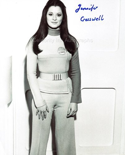 JENNIFER CRESSWELL as a Nurse - Space: 1999 Genuine Autograph from Celebrity Ink