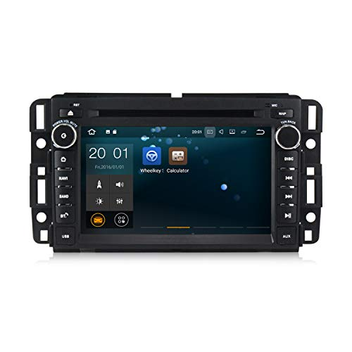 Android 8.1 Car Stereo 7 inch DVD Player for GMC Chevy Silverado 1500 2012 Quad Core Double Din in Dash Touchscreen FM/AM Radio Receiver Navigation with Rear View Camera by MekedeTech (Image #1)