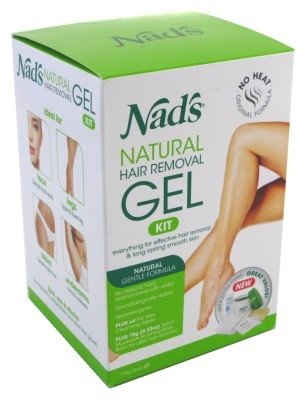 Nads Hair Removal Gel Kit 6 Ounce Gel (177ml) (6 Pack) by NAD'S