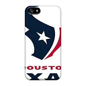Waterdrop Snap-on Houston Texans Logo Nfl Case For Iphone 5/5s