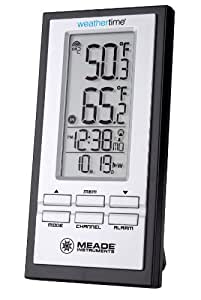 Meade Instruments TE278W Personal Weather Station with Atomic Clock