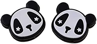 HATCHMATIC Sunnimix Pack de 2 Orts Raquette de Tennis Vibrateur Shock Absorber Accessoires - Léger & amp; Durable: Noir